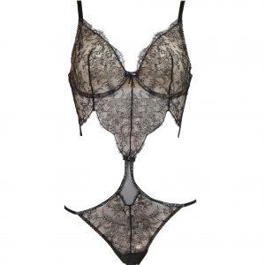 Brazilian-Bügel-Body mit Swarovski-Kristallen