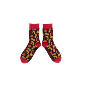 bunte Bambus-Herrensocken Mixed Fruit