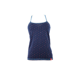 Baumwoll-Top tiefblau (dunkelblau)