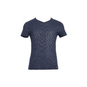 transparentes dunkelblaues Männerunterhemd/T-Shirt